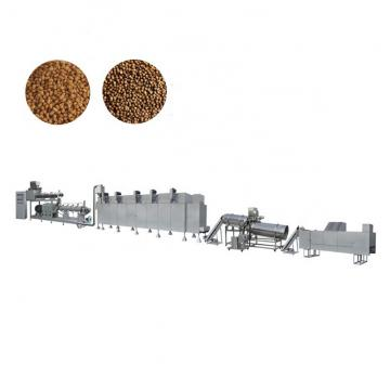 Floating Fish Feed Pellet Machine Twin Screw Extruder