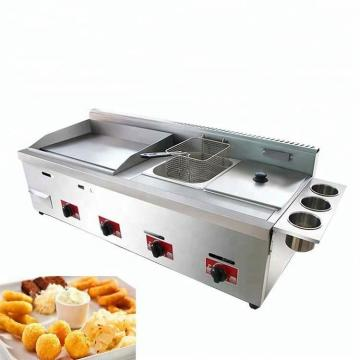 Factory Direct Automatic Batch Frying Machinery Onion Deep Fryer Machine Green Pea Fryer