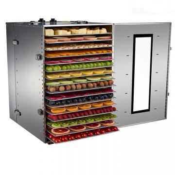 Electric Hot Air Vegetable Fruit Herb Wood Seafood Meat Grain Bean Curd Stick Dehydrator Machine
